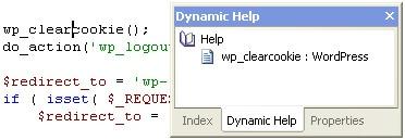 CodeLobster - WordPress Dynamic Help