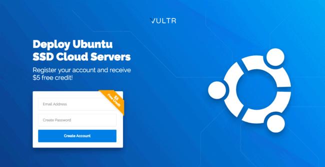 Vultr Ubuntu SSD