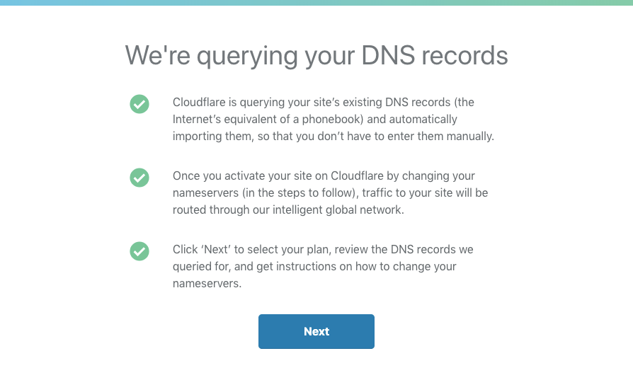 Cloudflare Querying DNS