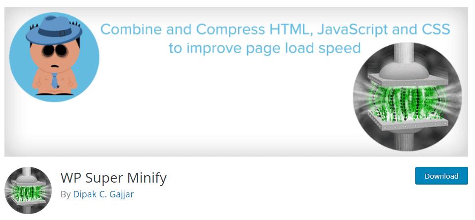 WP Super Minify WordPress Plugin