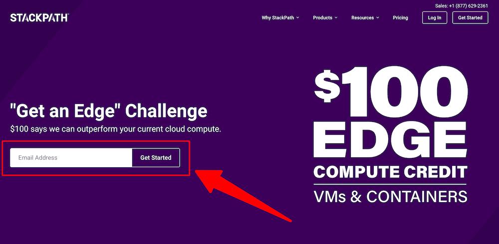 StackPath 0 Credit for Edge Computing