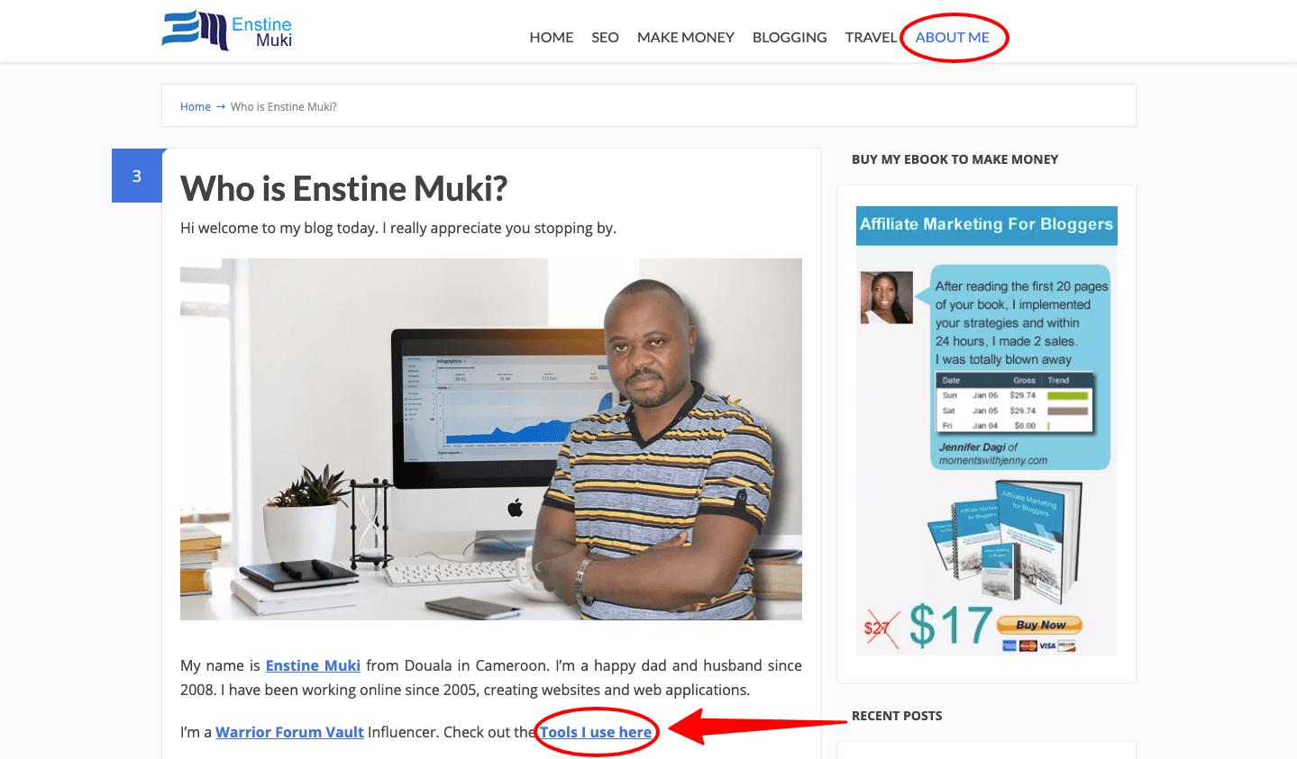 Who is Enstine Muki