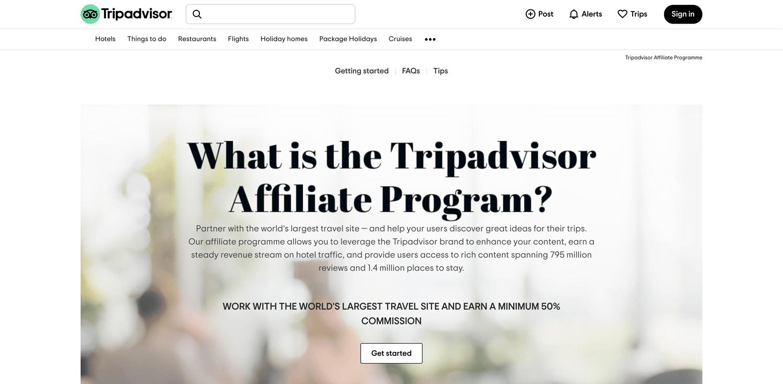 Tripadvisor Affiliates